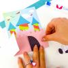Unicorn Invitation Card for crafting