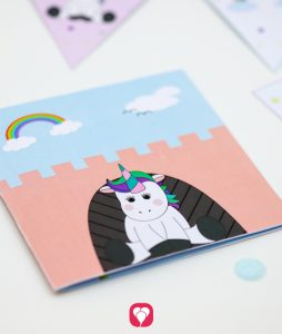 unicorn card for crafting