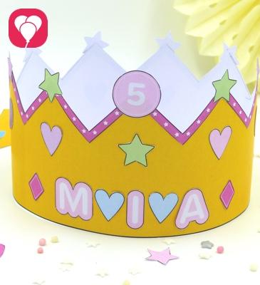 Prinzessin Krone Aus Blutenpaste Tutorial