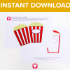 Popcorn Card Download