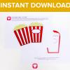 Popcorn Card Download