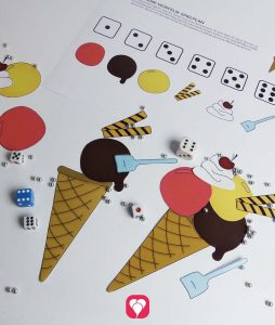 Ice Cream Dice Game