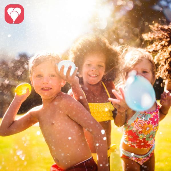 Ideen für lustige Wasserspiele beim Kindergeburtstag