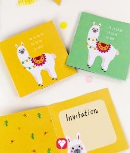 Llama Card - balloonas