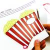 Popcorn Card - cut out