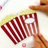 Popcorn Card - stick together