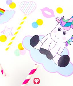 Unicorn Photobooth - balloonas
