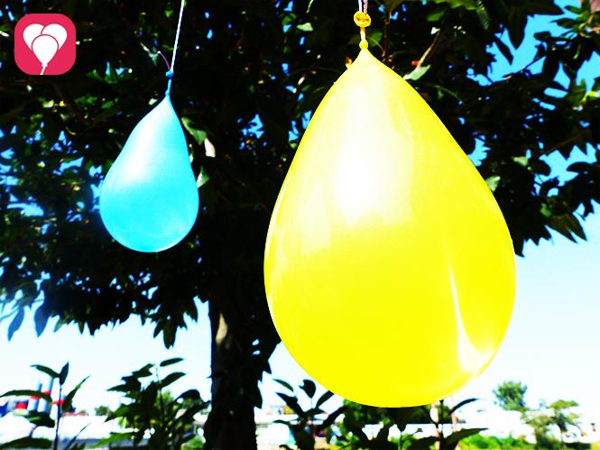 Wasserspiele für den Kindergeburtstag - Wasserbomben Pinata