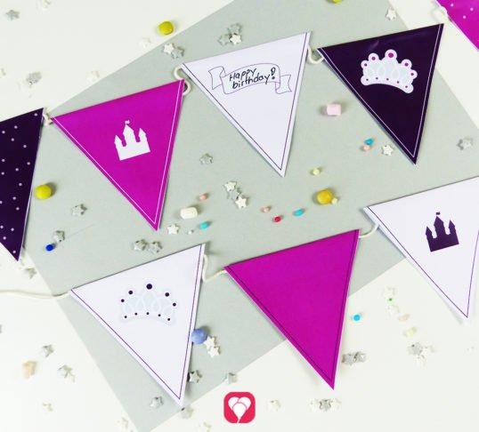 Fairytale Castle Garland - balloonas