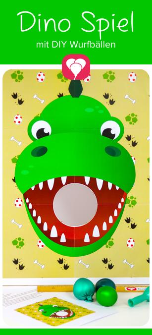 Dino Spiel Pin - balloonas