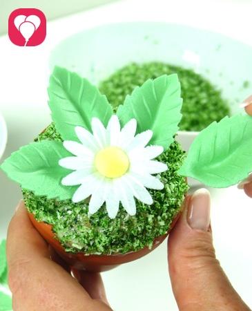 Blumen Muffins für den Kindergeburtstag