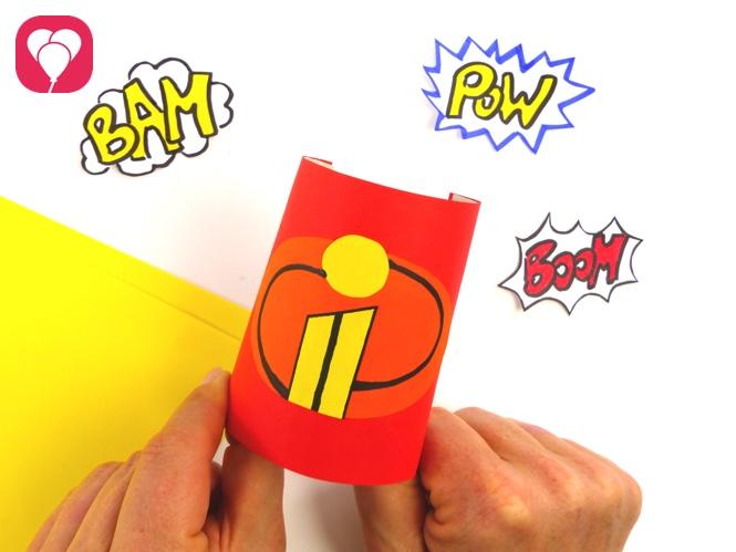 Superhelden Party Spiele und Verkleidung zu die Unglaublichen