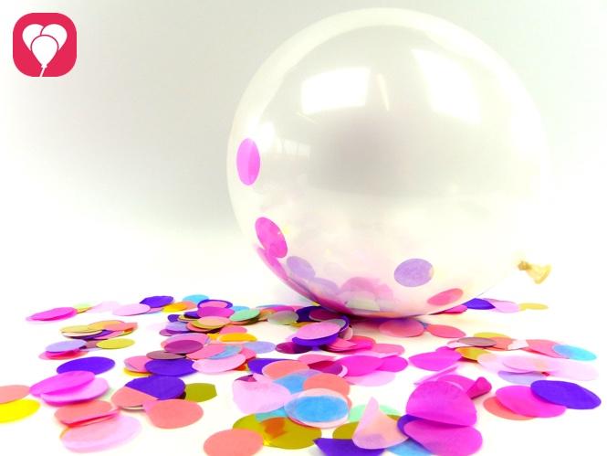 Konfetti Ballons selbst machen - balloonas Blog