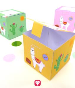 Lama Giftbox -balloonas