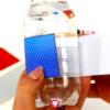Superhelden Flaschenetiketten und Becherschilder Schritt 3 - kleben