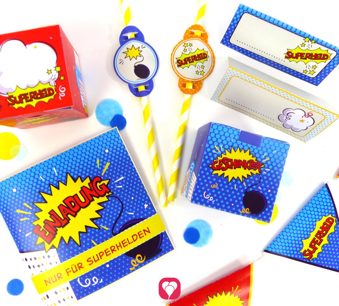 Das Superhelden Paket - Basic