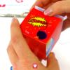 Deine Superhelden Geschenkbox in rot