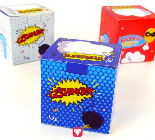 Superhelden Geschenkbox - balloonas