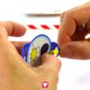 Superhelden Tischkarten und Strohhalmdeko Schritt 5 - Strohhalmdeko auf Strohhalm ziehen