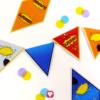 Deine Superhelden Wimpelkette in verschiedenen Farben und Motiven