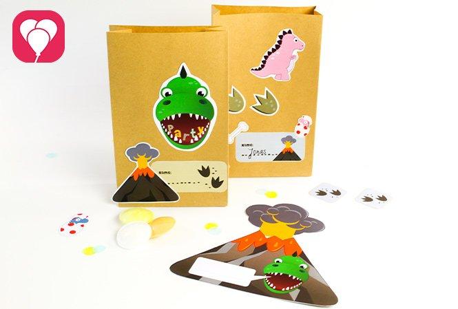 Dino Geburtstag Set - balloonas
