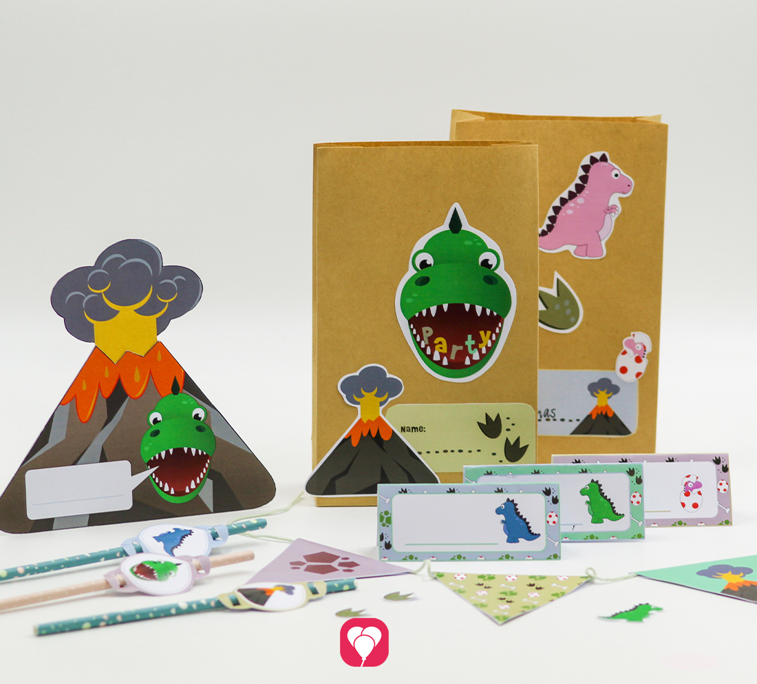 Dino Geburtstagspaket
