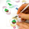 Dino Tischkarten und Strohhalmdeko - Strohhalmdeko einschneiden
