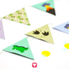 Dino Geburtstagspaket Basic - Wimpelkette