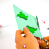 Dino Wimpelkette - Wimpel ausschneiden
