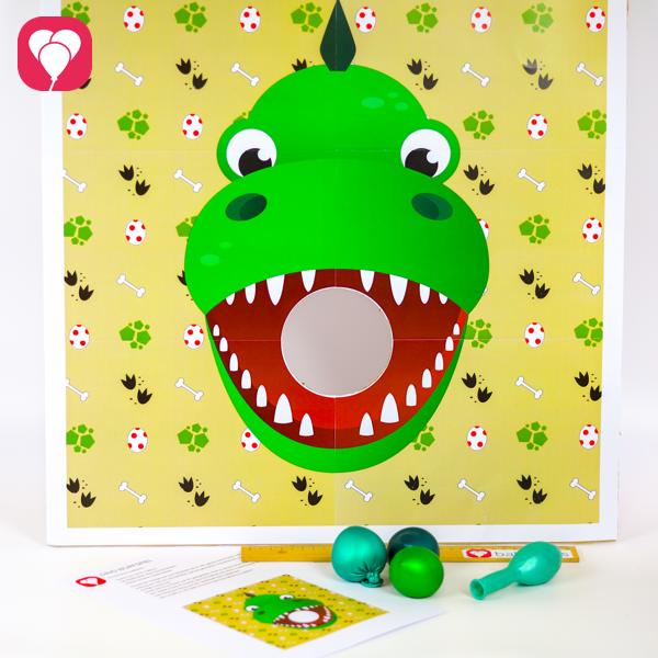 Dino Wurfspiel zum Download -balloonasshop
