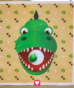 Dino Wurfspiel - der Spielspaß kann beginnen!
