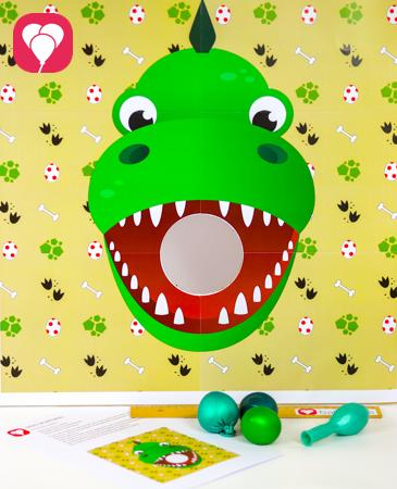 Dino Spiel balloonas