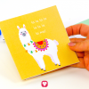 Lama Birthday Package - invitation card
