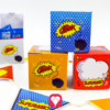 Superhero Birthday Package basic - Gift Boxes