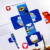 Superhero Gift Box - step 1