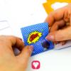 Superhero Gift Box-step 3