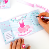 Ballerina Einladung - Einladungstext schreiben