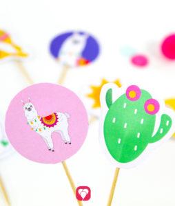 Lama Deko Picker - balloonas