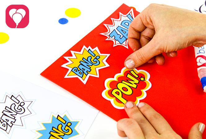 Superhelden Spiel für den Kindergeburtstag - balloonas