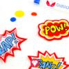 Superhelden Spiel - Superkräfte Pins