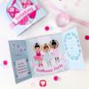 Ballerina Geburtstagspaket basic - Einladungskarte