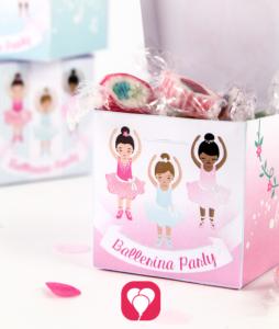 Ballerina Gift Box - balloonas