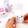 Ballerina Geschenkbox - falten