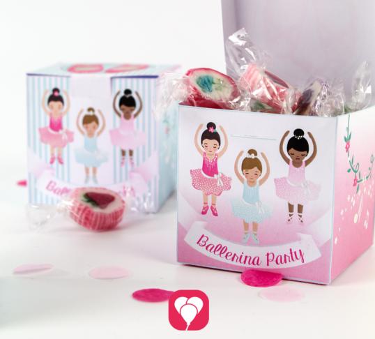 Ballerina Geschenkbox - balloonas