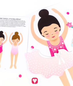 Ballerina Party Game - balloonas