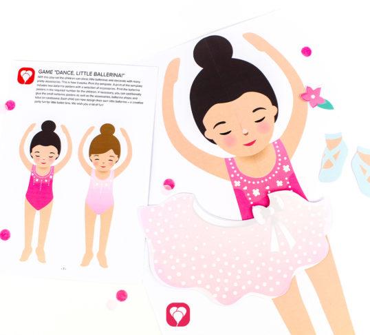Ballerina Party Game - balloonas