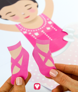 Ballerina Party Game - shoes