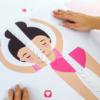 Ballerina Spiel - Ballerina Poster zusammenkleben