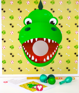 Dinosaur Party Game - balloonas