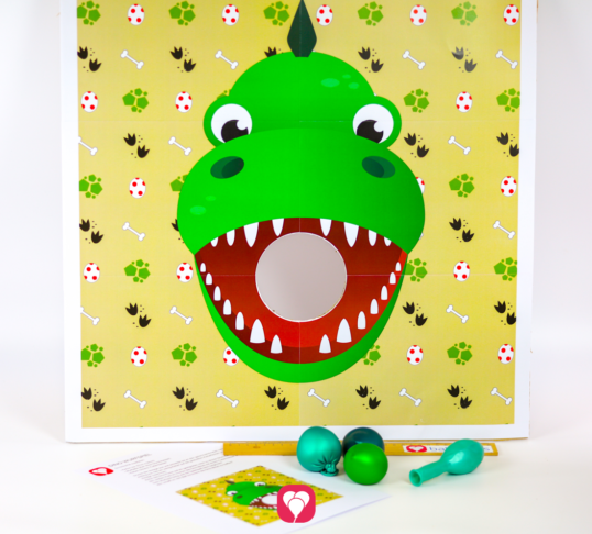 Dinosaur Party Game - balloonas